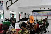Divif 3 Kostrad Gelar Komsos dengan Keluarga Besar TNI di Makassar