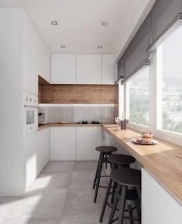 Desain Dapur Rumah Minimalis Ukuran 3×3