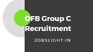 OFB Group C Recruitment