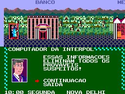Jogue Carmen Sandiego online para Master System
