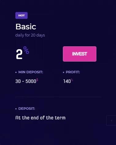 Инвестиционные планы FlyForex
