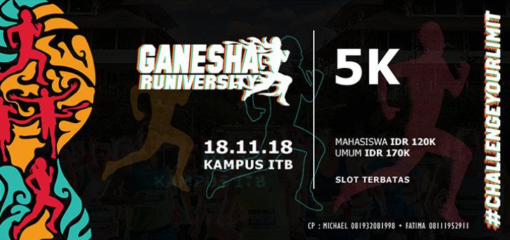 Ganesha Runiversity • 2018