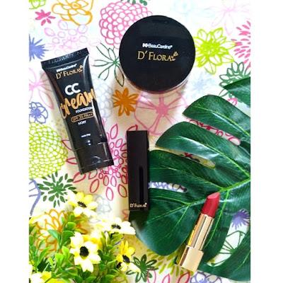 D'Flora Kosmetik untuk Make Up Flawless