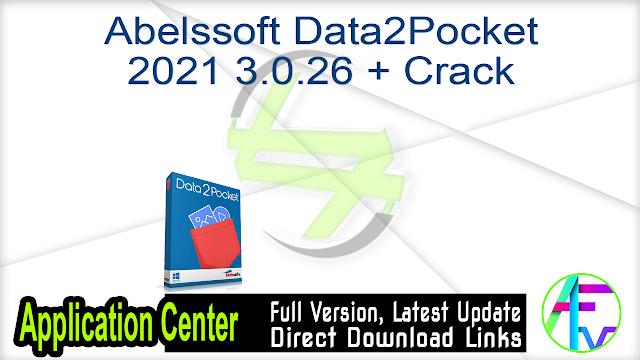 Abelssoft Data2Pocket 2021 3.0.26 + Crack