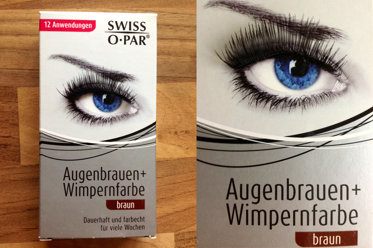 Gute Augenbrauenfarbe