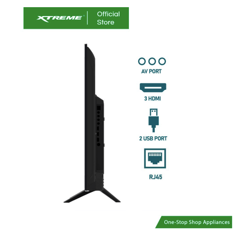 A look at the ports of XTREME 43-inch Android TV