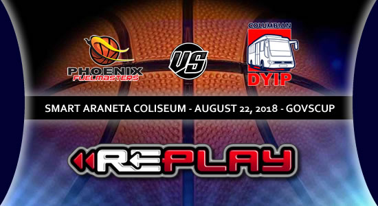 Video Playlist: Phoenix Fuelmasters vs Columbian Dyip game replay 2018 PBA Governors' Cup