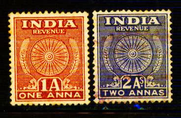 Heritage Of Indian Stamps Site India Revenue Court Fee