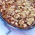 Crumble Pomme-Rhubarbe