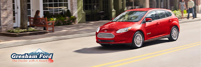 Ford Focus Electric available at Gresham Ford
