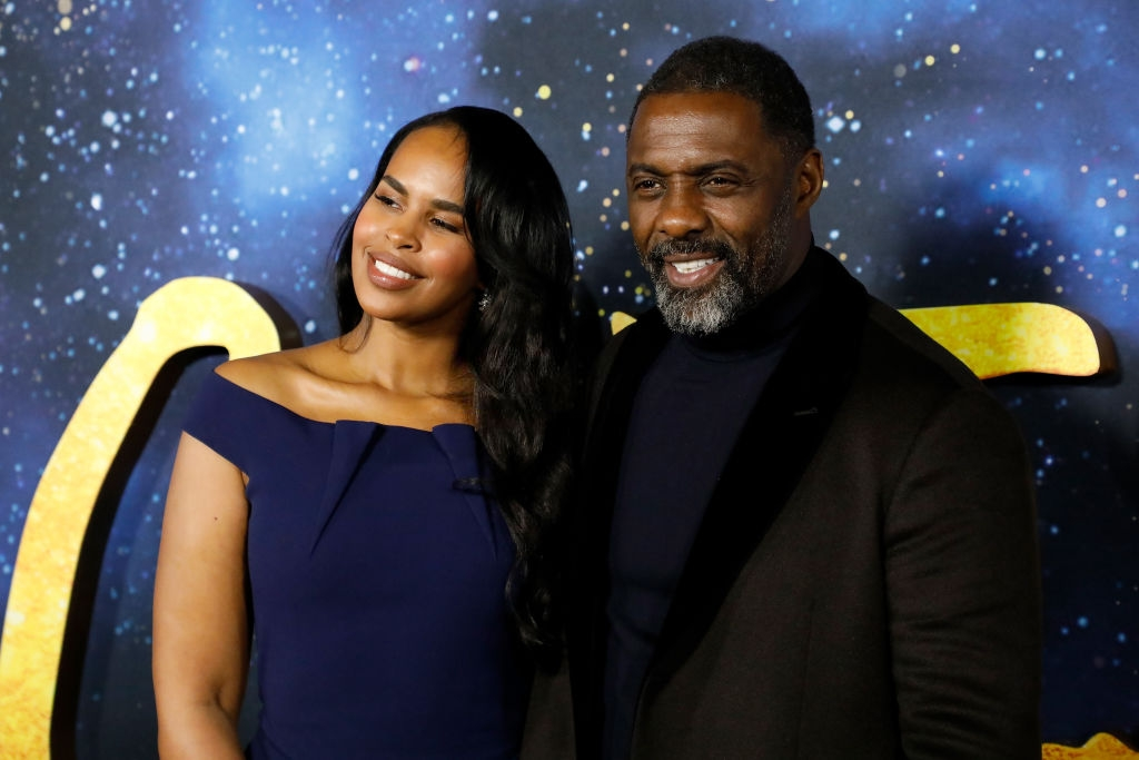 "Sabrina Dhowre Elba and Idris Elba attend the ""Cats"" World Premiere at Alice Tully Hall, Lincoln Center on December 16, 2019 in New York City. (Photo by Roy Rochlin/FilmMagic)"