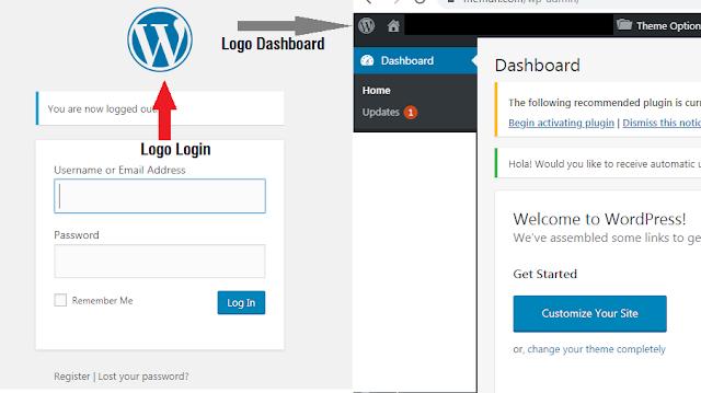 Cara Mengganti Logo Login dan Dashboard Wordpress Dengan Plugin