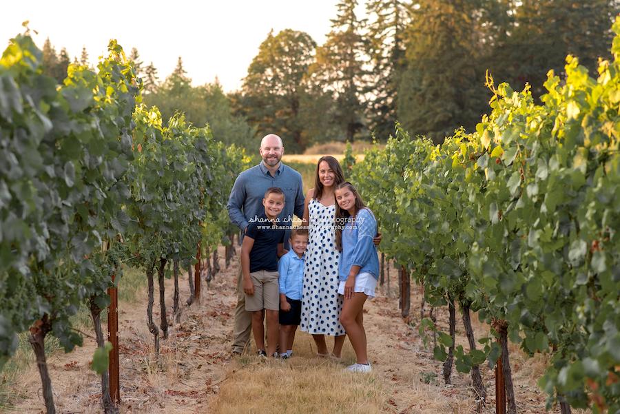 family photography Eugene Oregon
