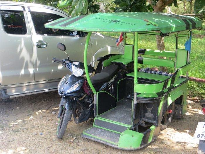 Мопед с коляской Таиланд