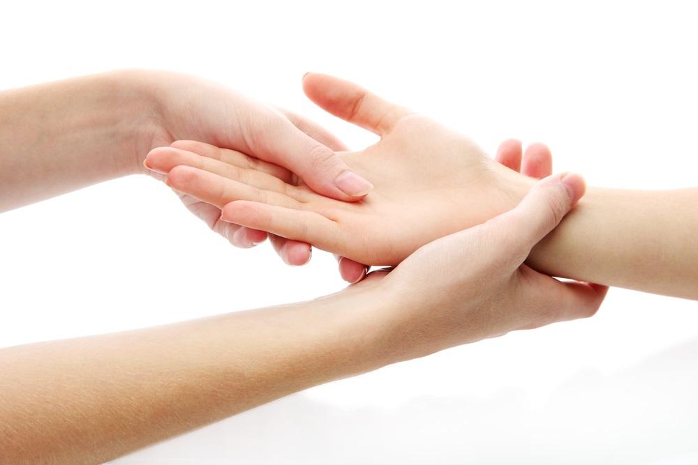 keringkan tangan