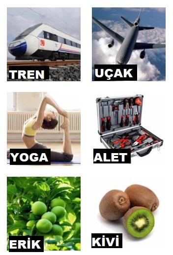 tren uçak yoga alet kazı kazan 4 harfliler