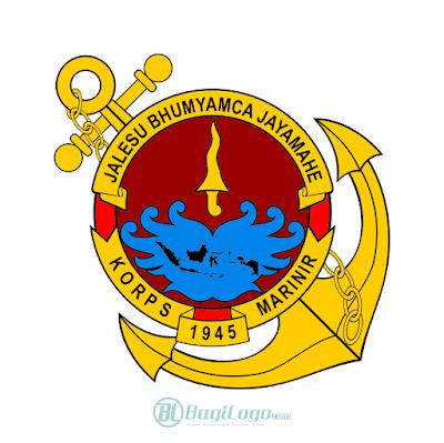 Korps Marinir Indonesia Logo Vector
