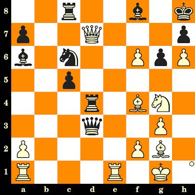 Les Blancs jouent et matent en 3 coups - Nepomniachtchi vs Aggelos Sismanis, Chalkidiki, 2000