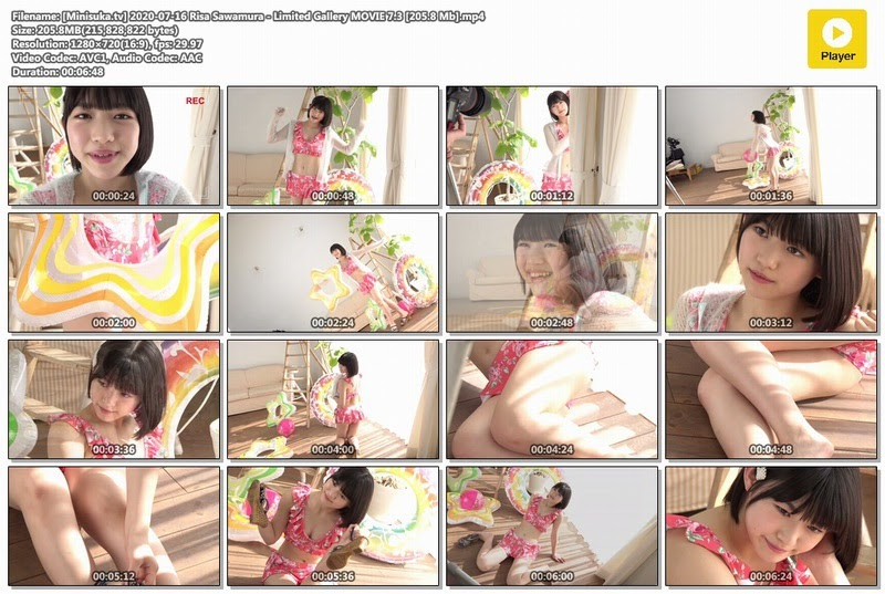 [Minisuka.tv] 2020-07-16 Risa Sawamura - Limited Gallery MOVIE 7.3 [205.8 Mb]