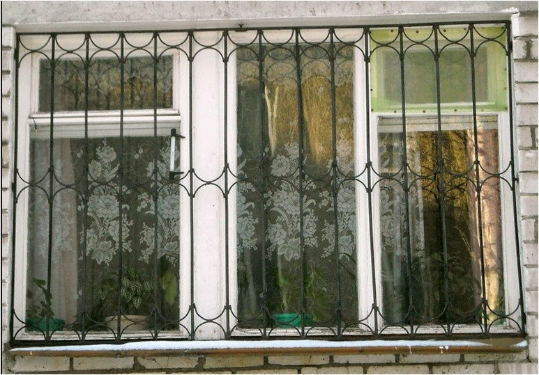 Window decorations, The best ideas for window decor, bars on windows with wrought iron