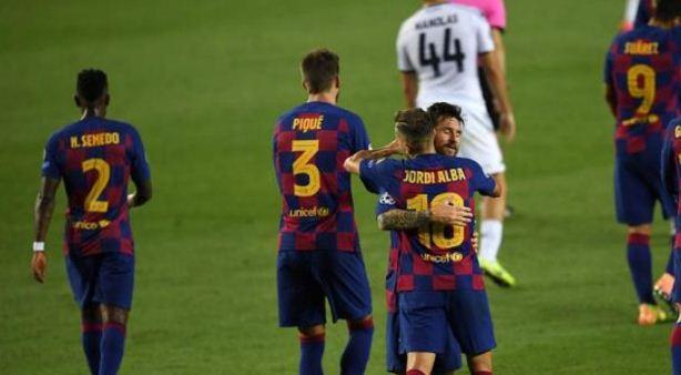 Barcelona vs Napoli 3–1 Highlights