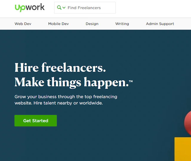 upwork freelancing website for freelancer