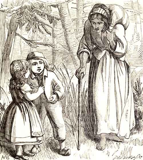 Ib and little Christina - a fairy tale by Hans Christian Andersen