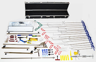 AutoMedic Paintless Dent Supply Tool Kit