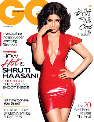 Shruti Haasan on the Cover of GQ India