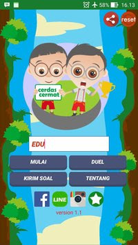 Download Game Android Mengasah Otak Kuis Cerdas Cermat Apk v1.1