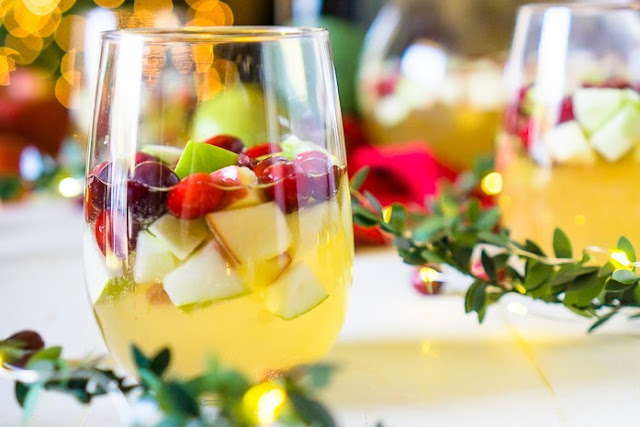 Christmas Sangria #drinks #alcohol