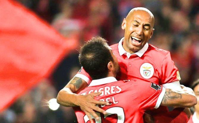 Benfica Futebol Luisão e Jardel
