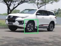 Harga Dan Fisik : Velg Toyota Fortuner VRZ TRD Gen 1