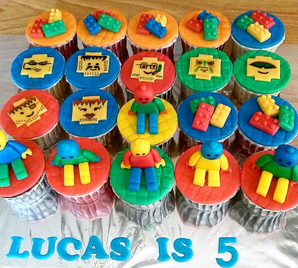 Lego Cupcakes Sherbakes