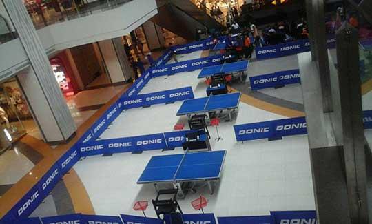 pengcab tenis meja gelar turnamen di csb