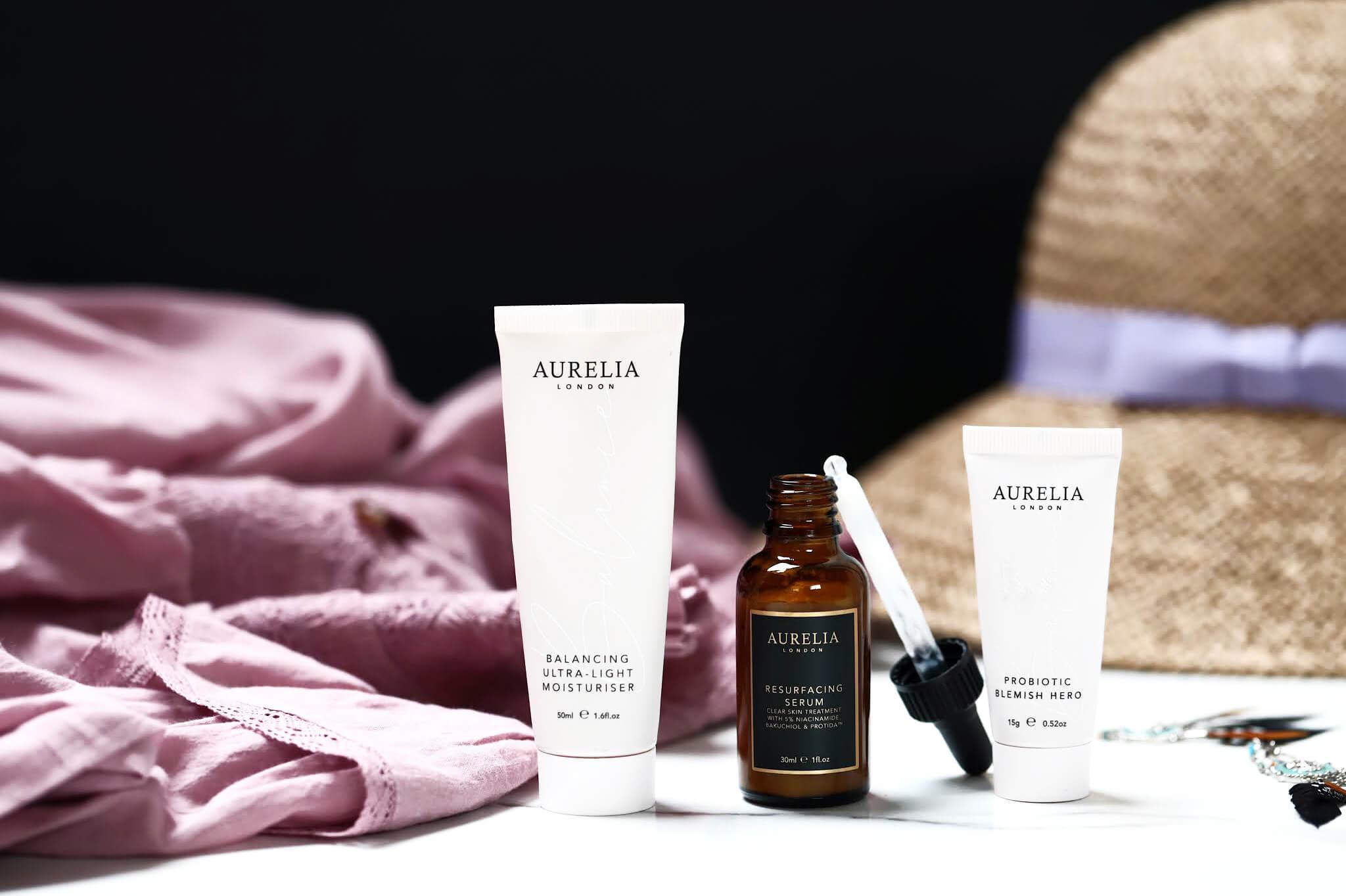 Aurelia London Serum resurfacing ultra balancing crème légère blemish hero