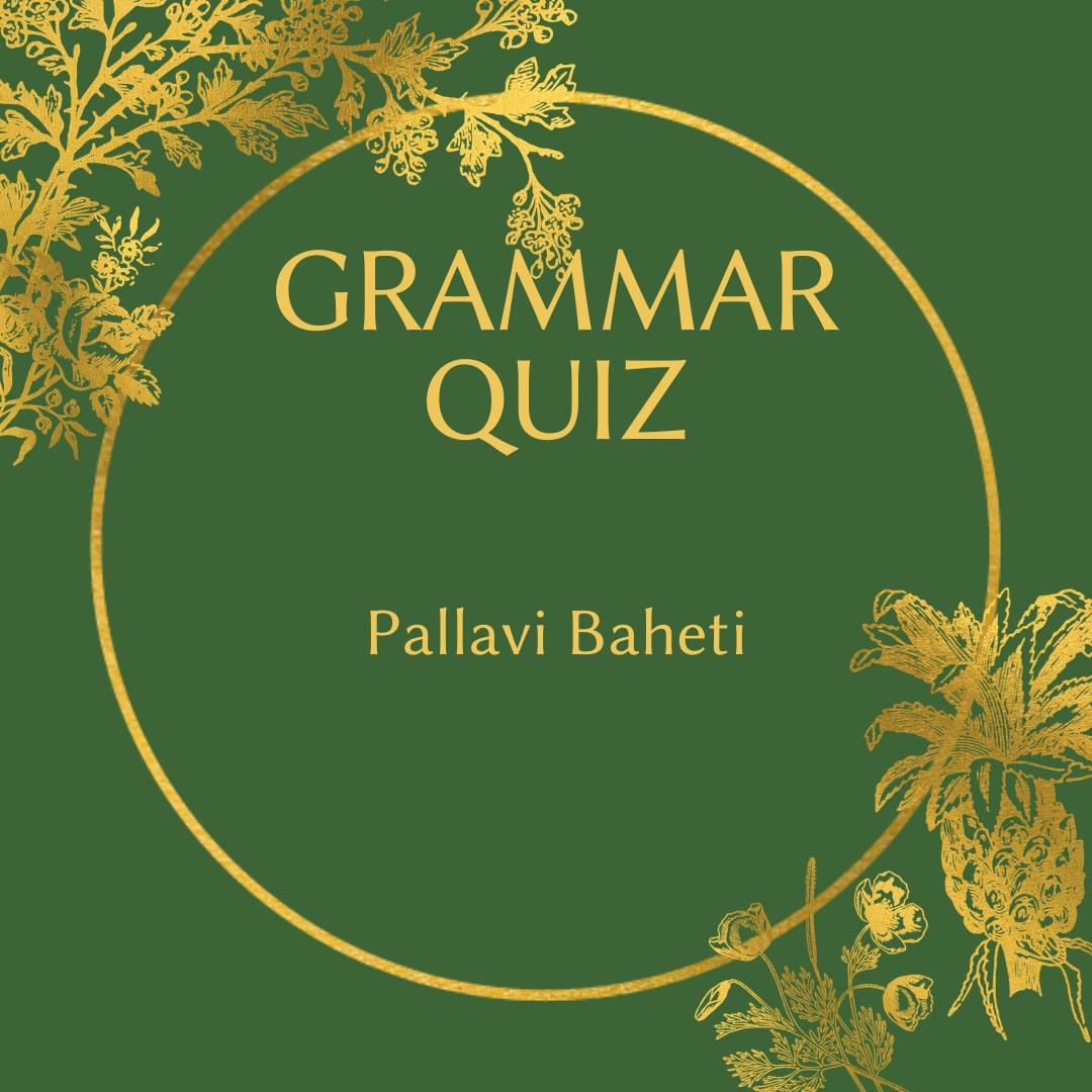 Grammar Quiz Yes