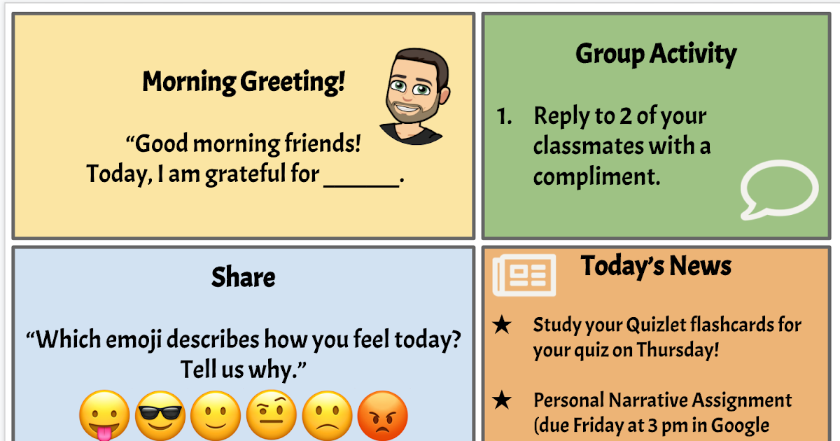 Learn Lead Grow: Virtual Morning Meetings with Flipgrid