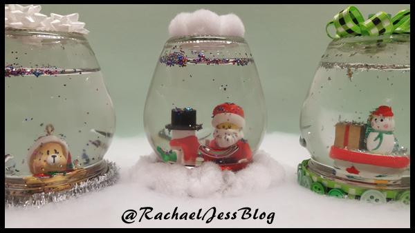 Handmade snow globes
