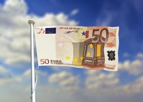 A euro flag.