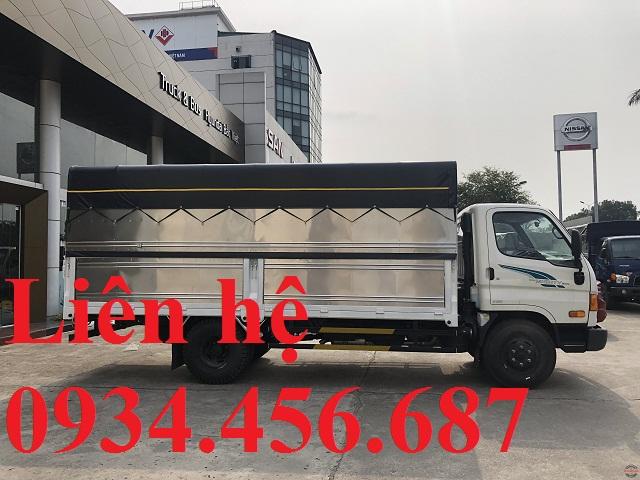 Hyundai 110sp thùng bạt