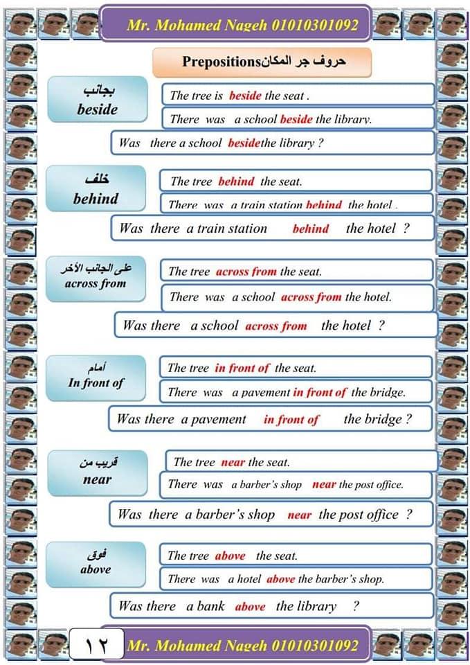 أقوى ورقتين لحل سؤال البراجراف للصف السادس الابتدائي  12