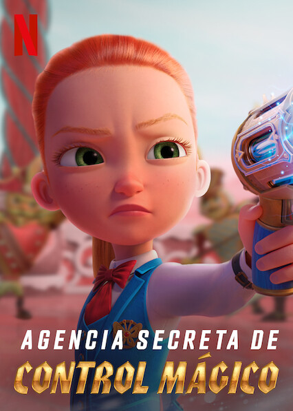 Secret Magic Control Agency (2021) NF WEB-DL 1080p Latino