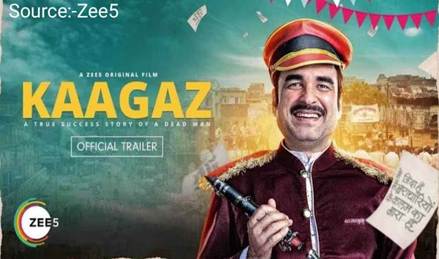 kaagaz full movie download Filmyzilla 720p full hd quality leak by filmywap kuttymovies 2021