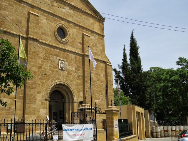 One Week in Cyprus Itinerary: Holy Cross Catholic Church on the Green Line