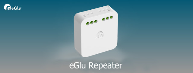 eGlu Home Automation Repeater
