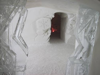 Doorway In The Ice.