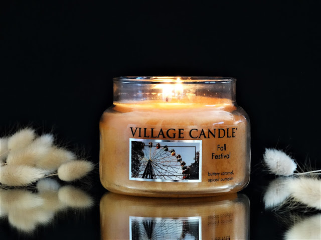 Village Candle Fall Festival avis, avis bougie, bougie parfumée au caramel, bougie parfumée village candle, parfum au caramel