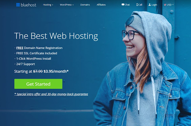 BlueHost - Best Cheap Web Hosting