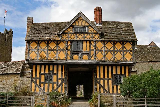 _Stokesay Castle Shropshire (England)